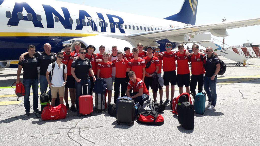 B1 Team der TSG Lützelsachsen erleben unvergessliche Tage in Kroatien.