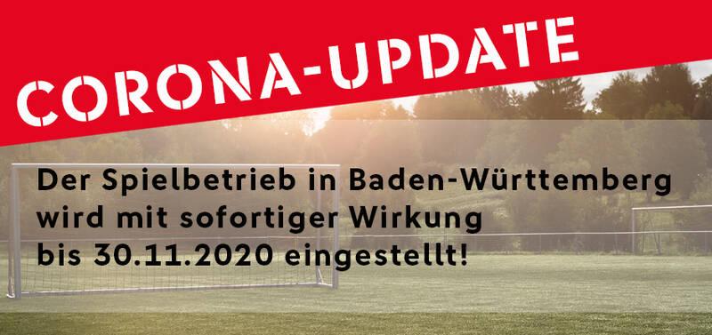 """Pressemitteilung Badfv: """"Jeder Tag zählt"""": Spielbetrieb im Amateurfußball wird in Baden-Württemberg ausgesetzt"""